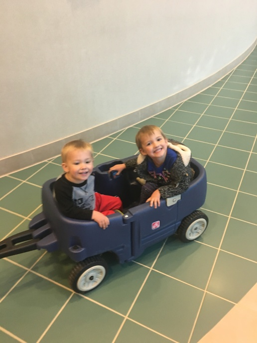These wagons were awesome to have at the hospital!